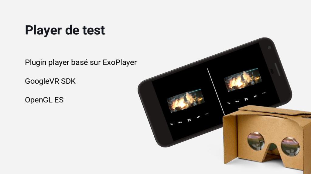 Plugin player basé sur ExoPlayer GoogleVR SDK O...
