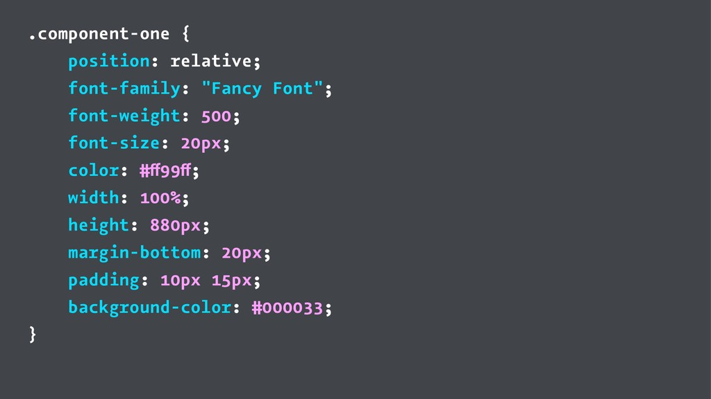 .component-one { position: relative; font-famil...