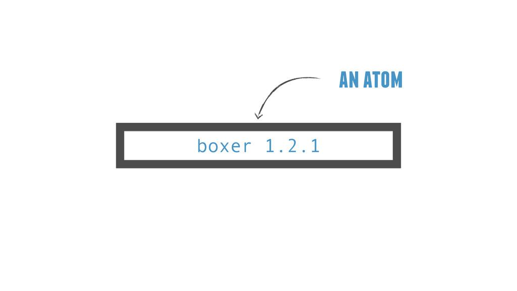 boxer 1.2.1 an atom
