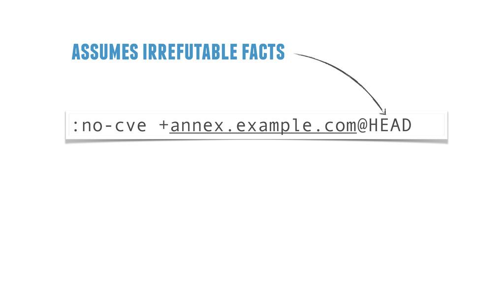 :no-cve +annex.example.com@HEAD assumes irrefut...