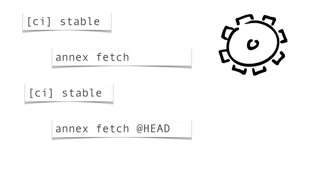 [ci] stable [ci] stable annex fetch @HEAD annex...