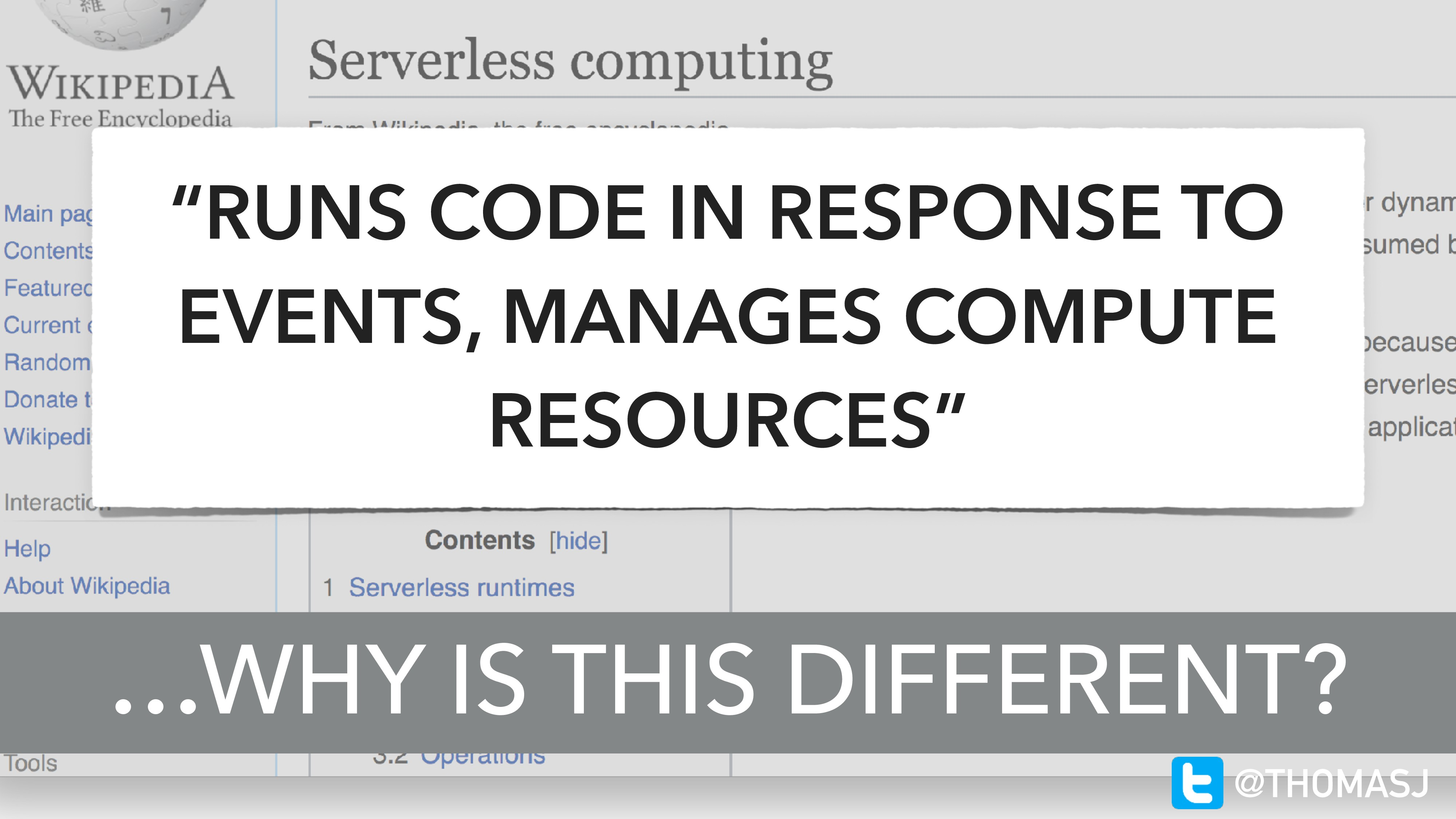 """""""RUNS CODE IN RESPONSE TO EVENTS, MANAGES COMPU..."""