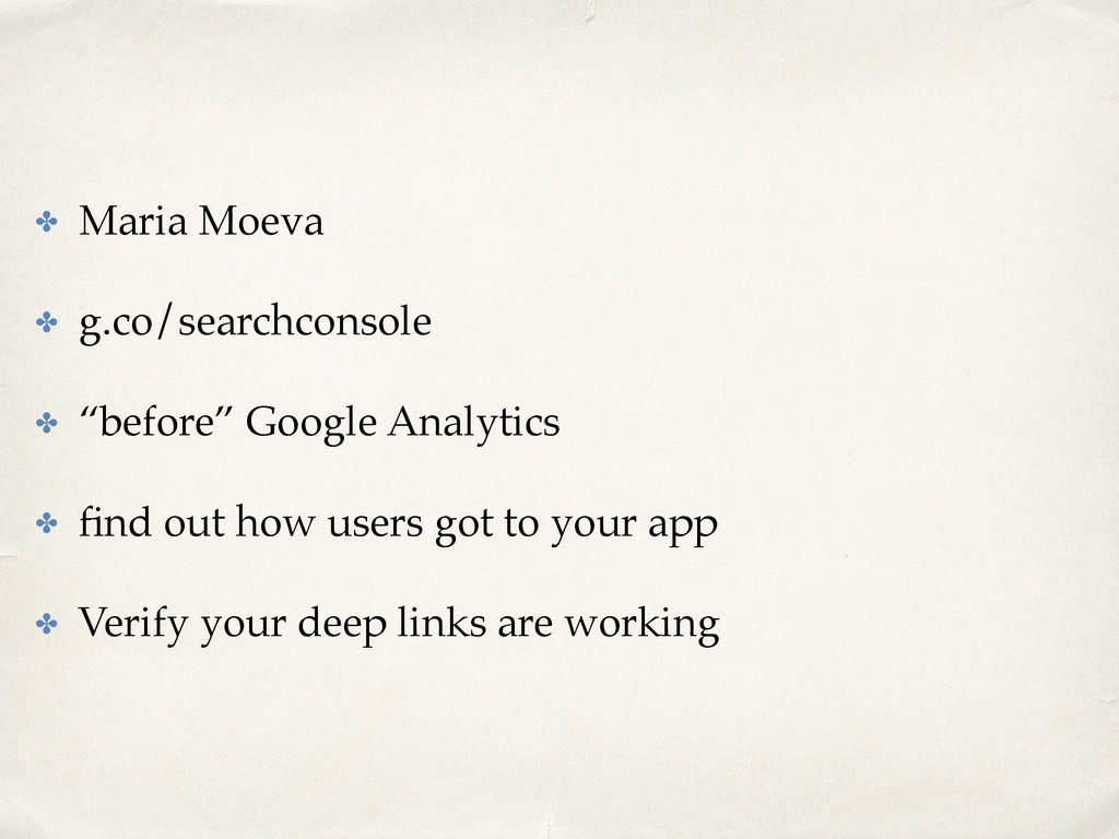 "✤ Maria Moeva ✤ g.co/searchconsole ✤ ""before"" G..."
