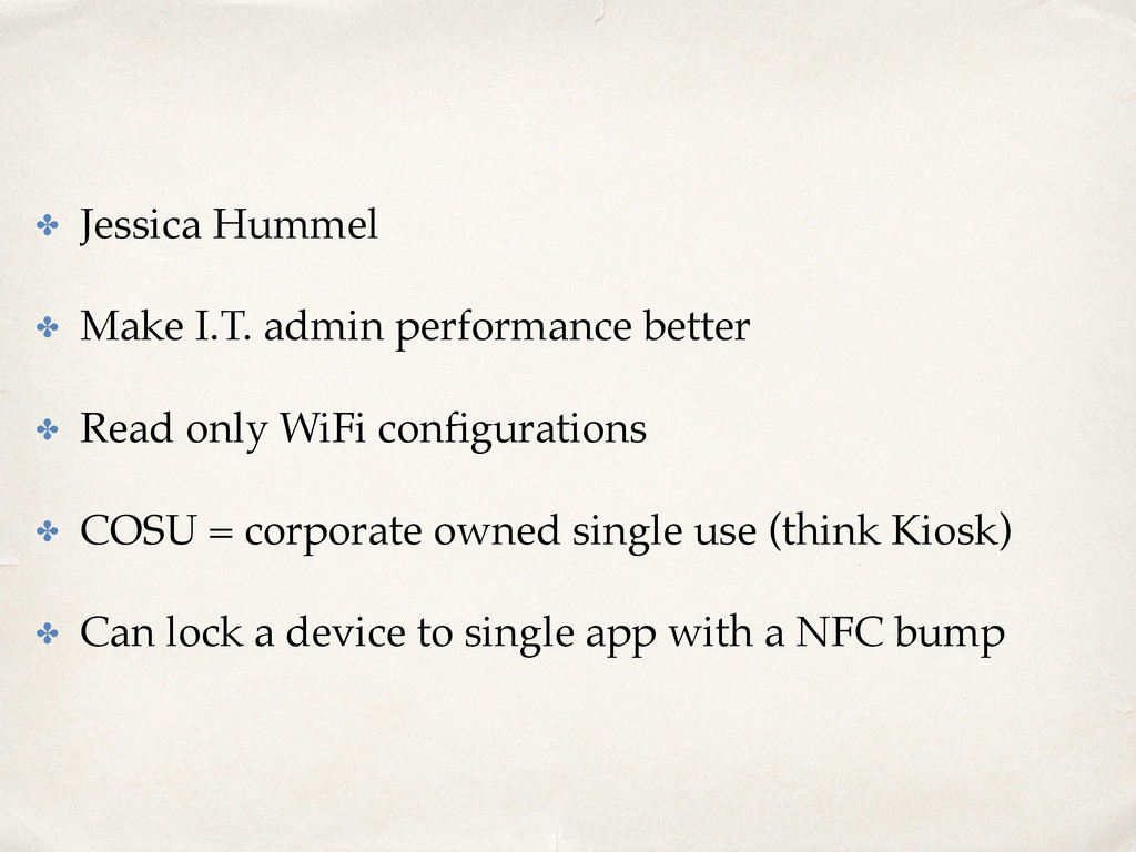 ✤ Jessica Hummel ✤ Make I.T. admin performance ...