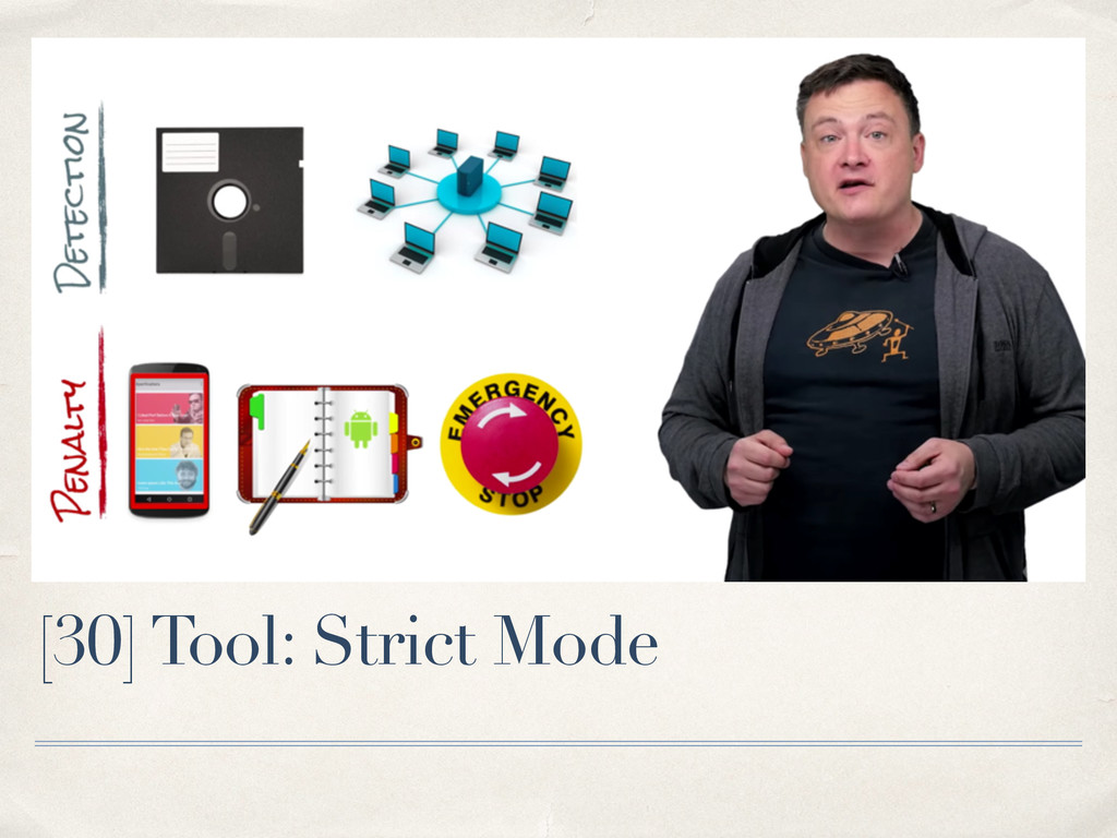 [30] Tool: Strict Mode