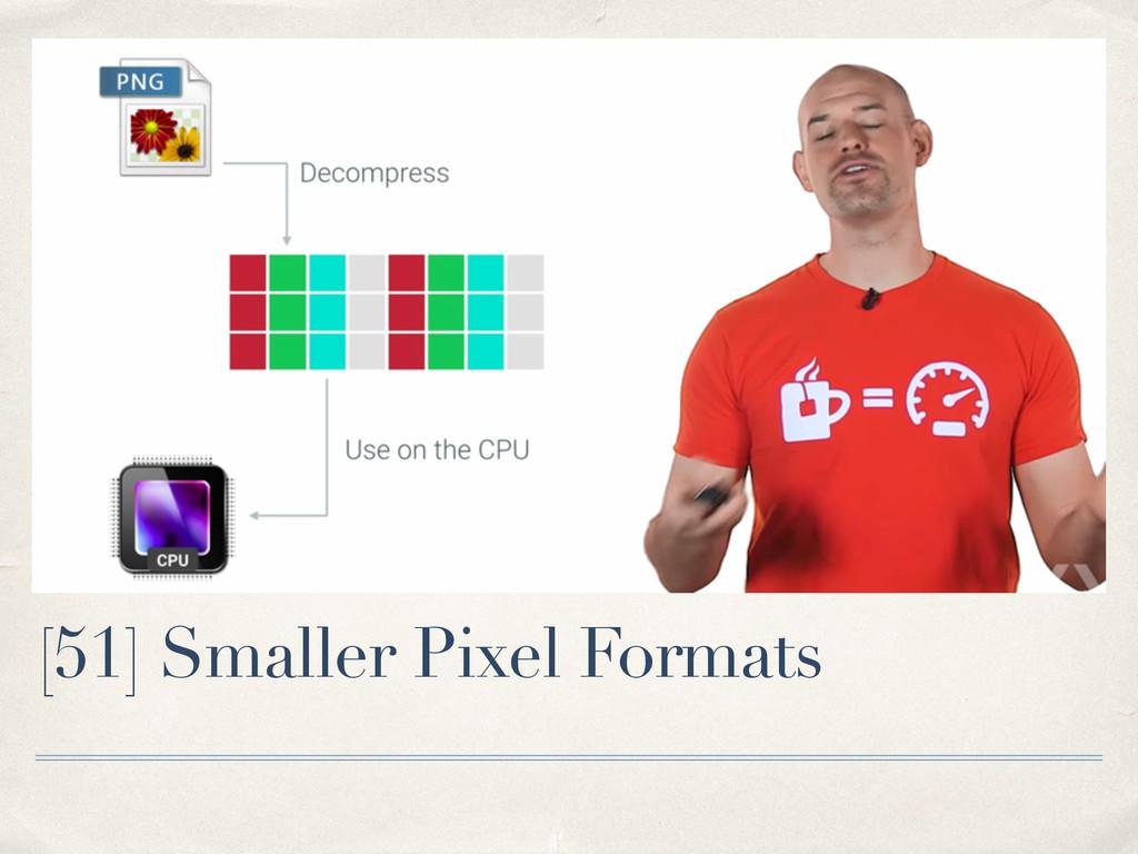 [51] Smaller Pixel Formats