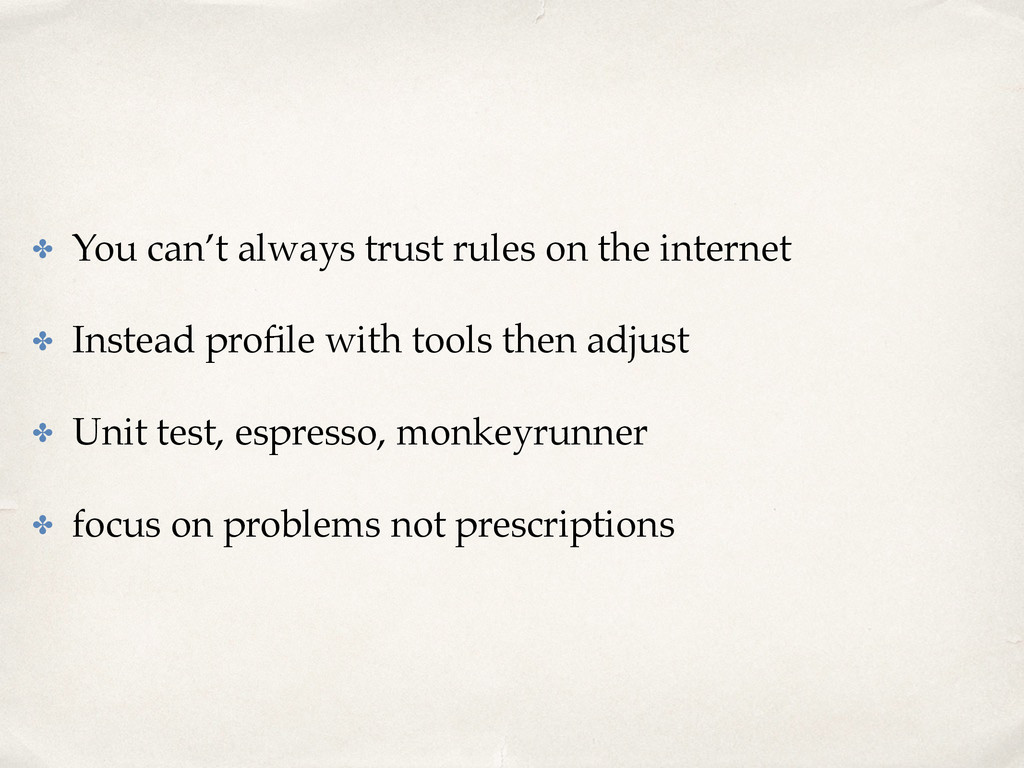 ✤ You can't always trust rules on the internet ...