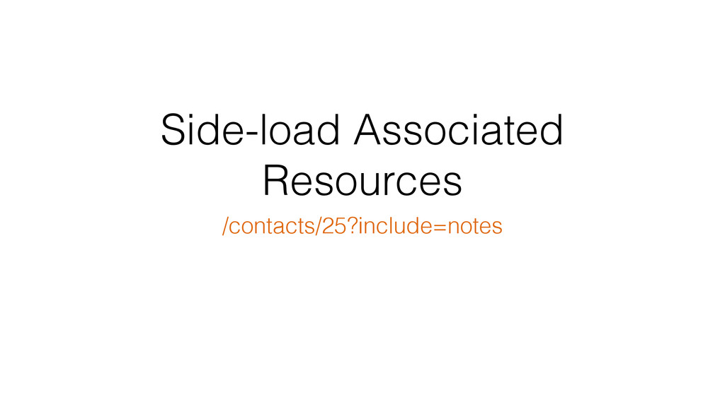 Side-load Associated Resources /contacts/25?inc...