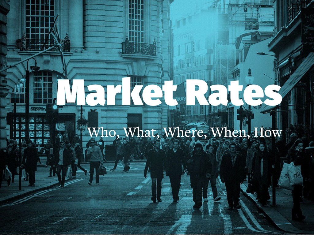 Market Rates Who, What, Where, When, How