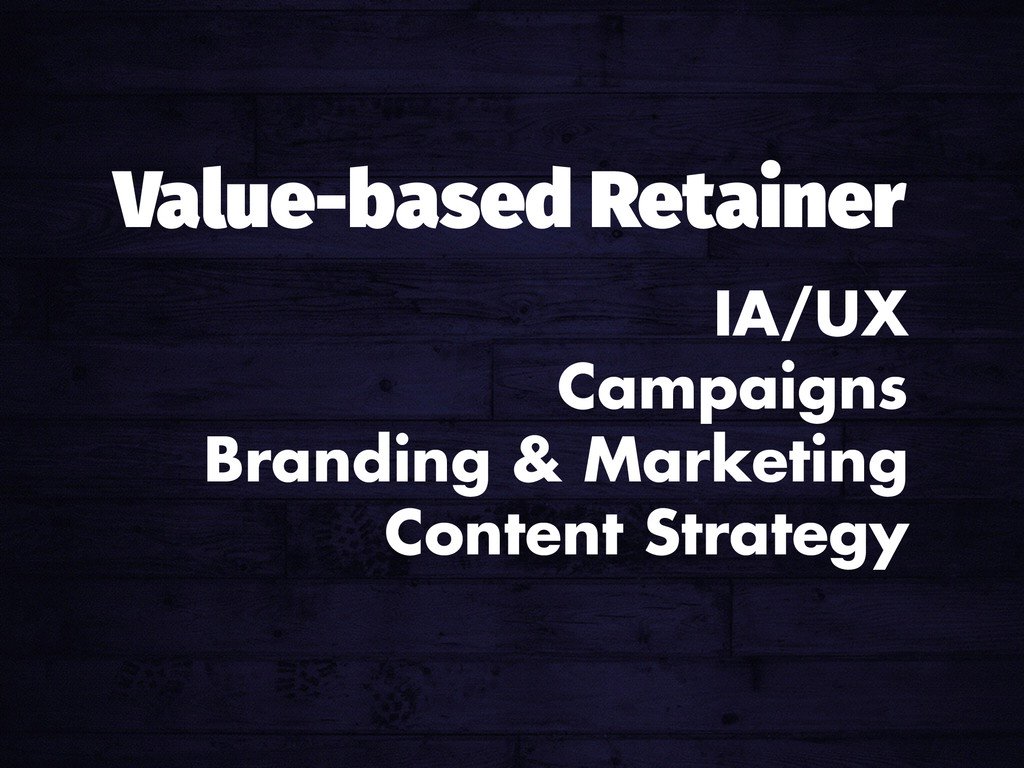 IA/UX Campaigns Branding & Marketing Content St...
