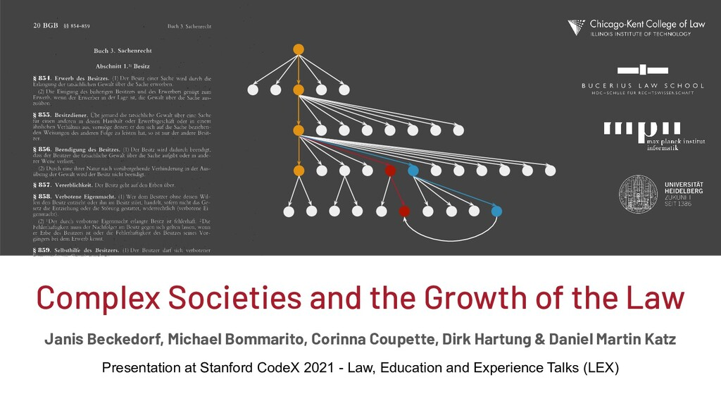 Complex Societies and the Growth of the Law Jan...