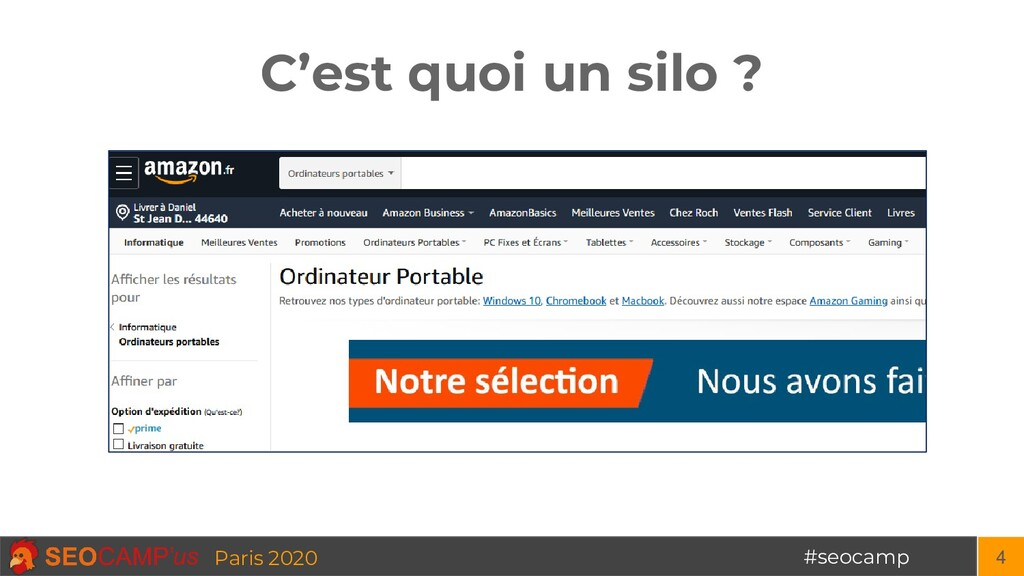 #seocamp Paris 2020 C'est quoi un silo ? 4