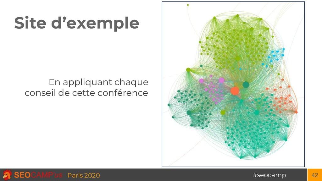 #seocamp Paris 2020 Site d'exemple 42 En appliq...