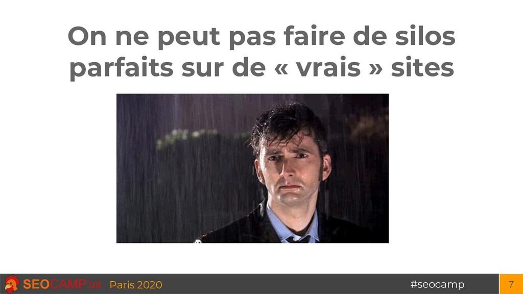 #seocamp Paris 2020 On ne peut pas faire de sil...