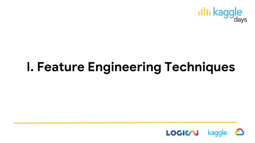 I. Feature Engineering Techniques