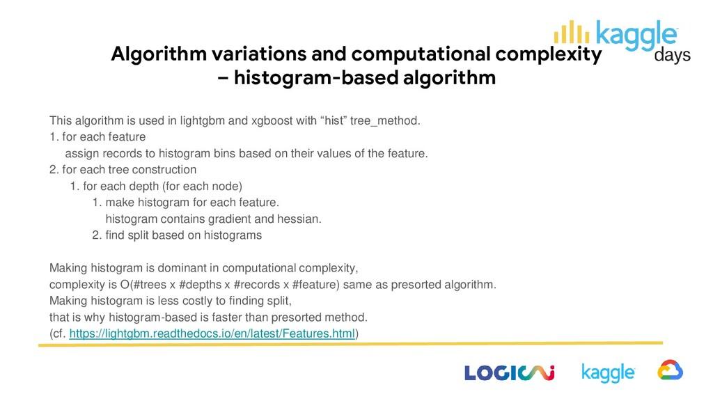 Algorithm variations and computational complexi...