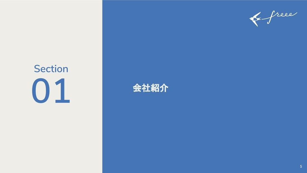 5 会社紹介 01 Section