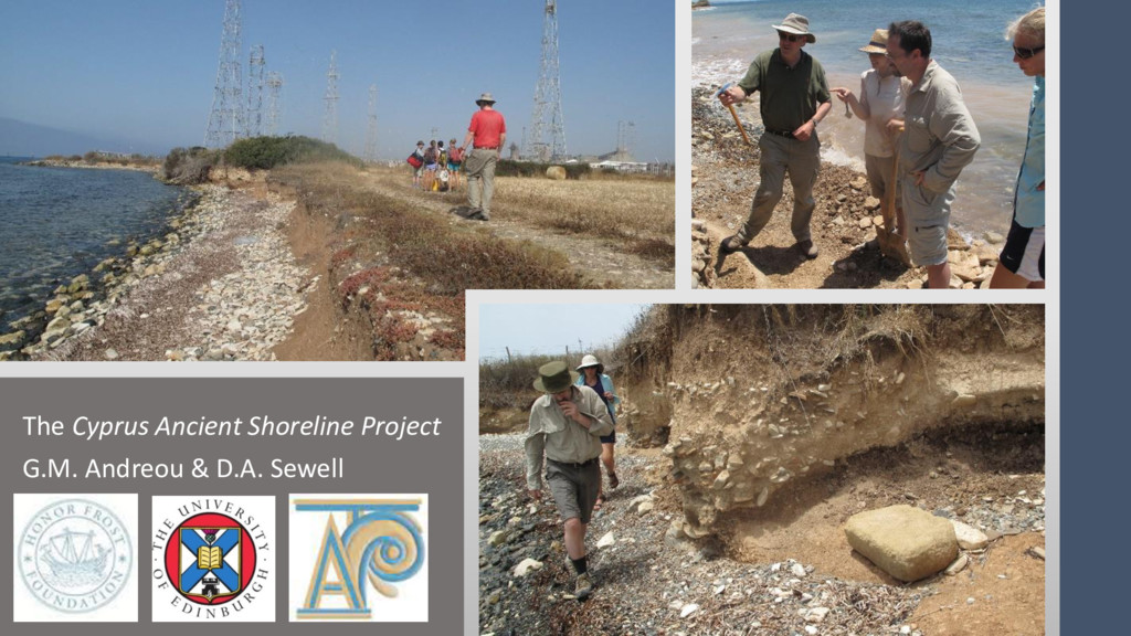 The Cyprus Ancient Shoreline Project G.M. Andre...