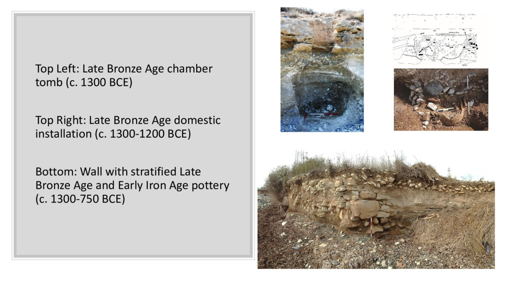Top Left: Late Bronze Age chamber tomb (c. 1300...