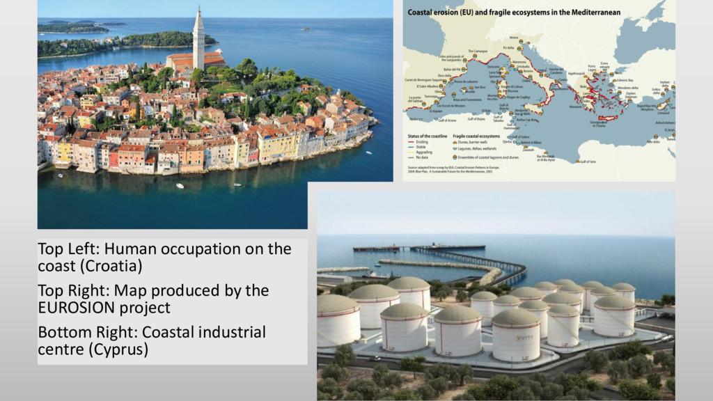 Top Left: Human occupation on the coast (Croati...