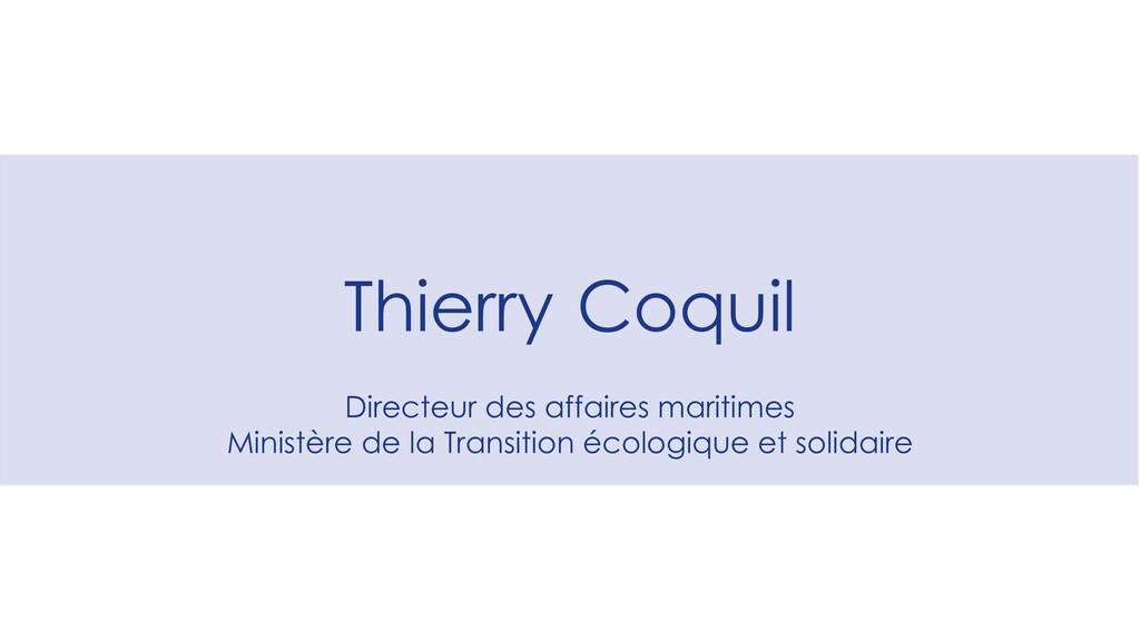 Directeur des affaires maritimes Ministère de l...