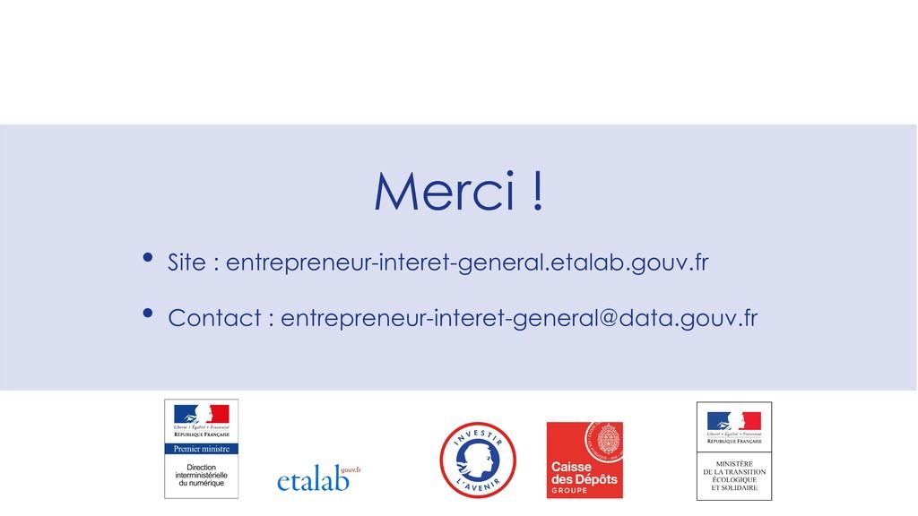 Merci ! • Site : entrepreneur-interet-general.e...