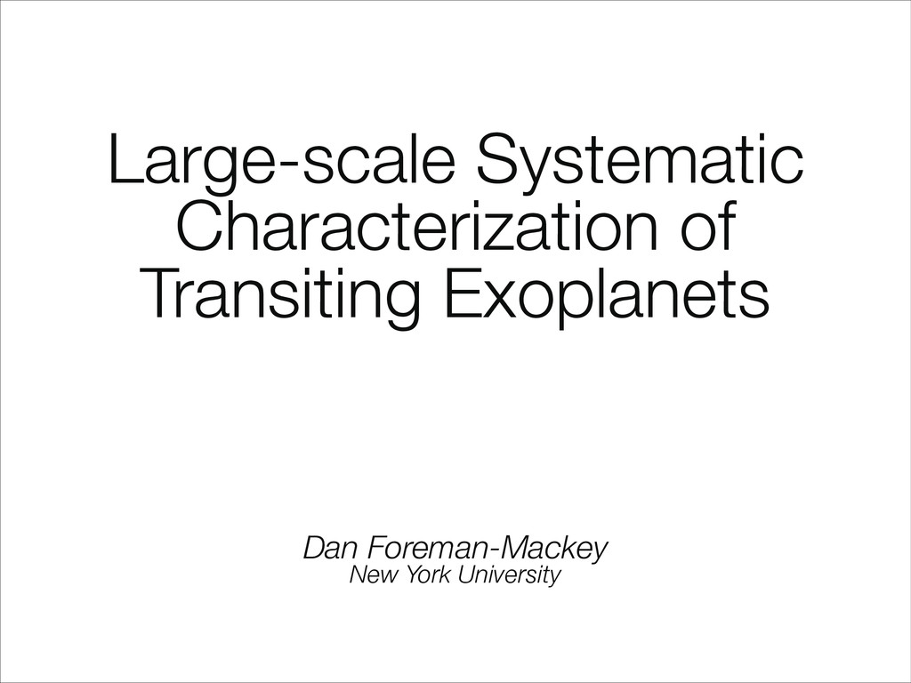 Large-scale Systematic Characterization of Tran...