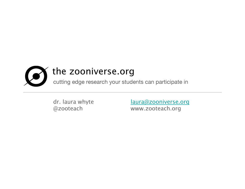 the zooniverse.org cutting edge research your ...