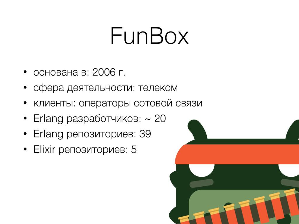 FunBox • основана в: 2006 г. • сфера деятельнос...