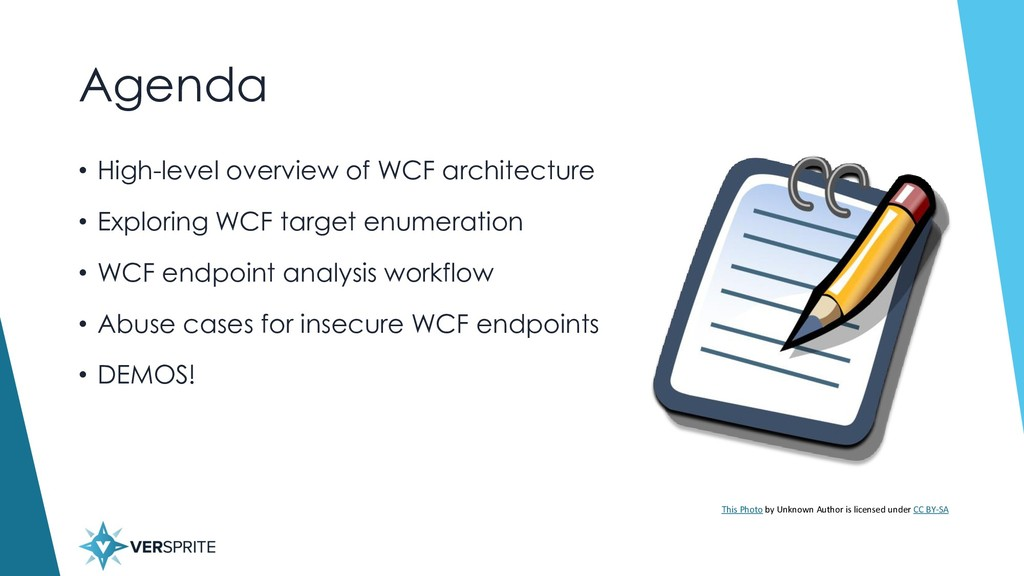 Agenda • High-level overview of WCF architectur...