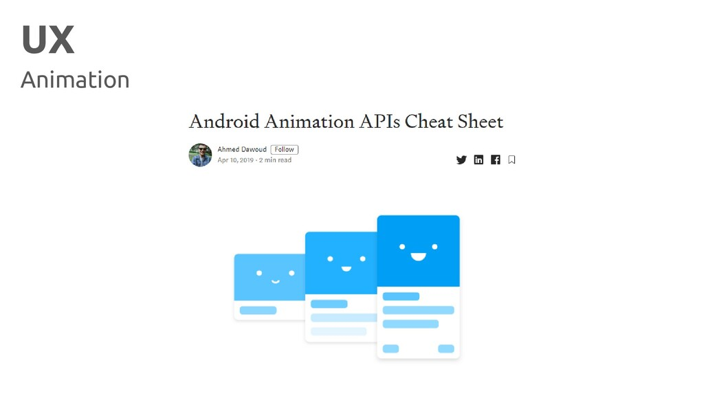 UX Animation