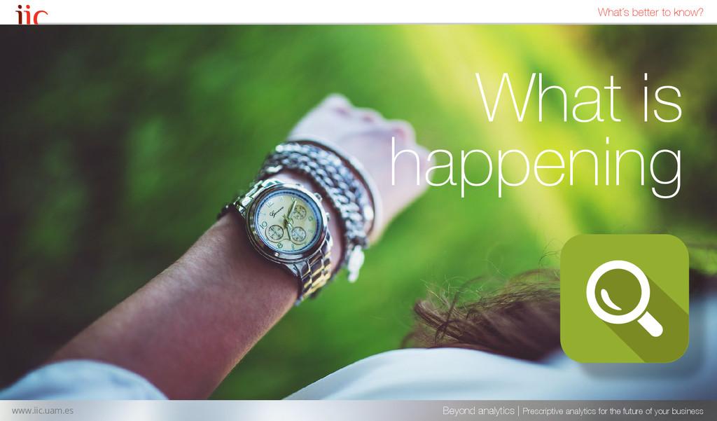 What is happening Beyond analytics | Prescripti...