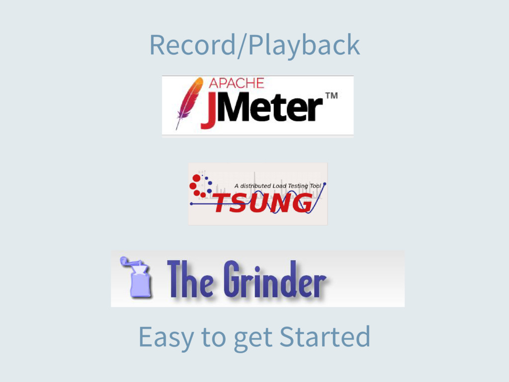 Record/Playback Easy to get Started