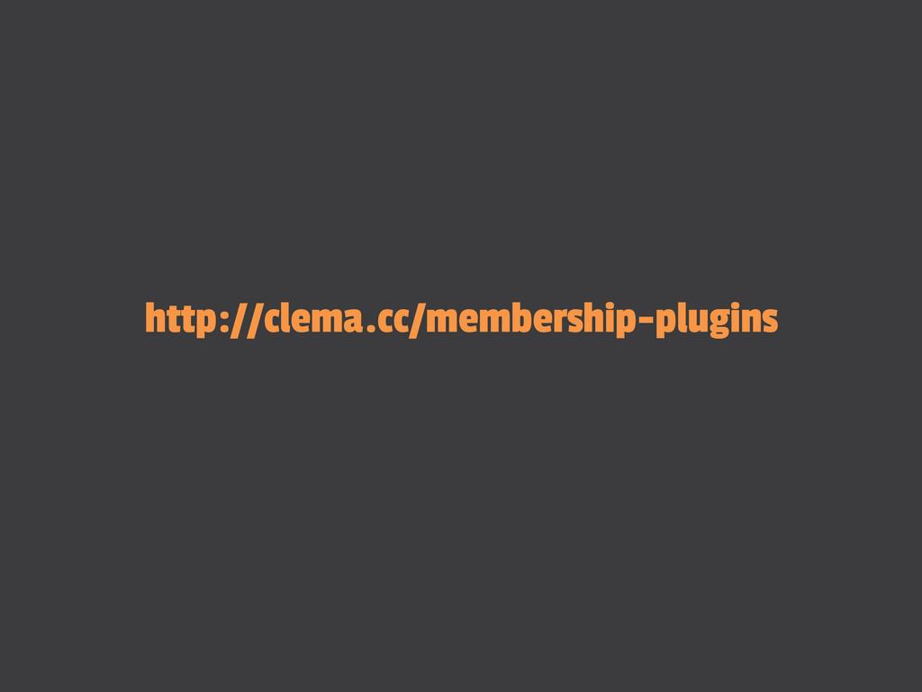 http://clema.cc/membership-plugins
