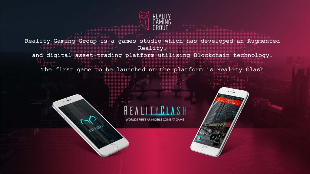 Reality Gaming Group is a games studio which ha...