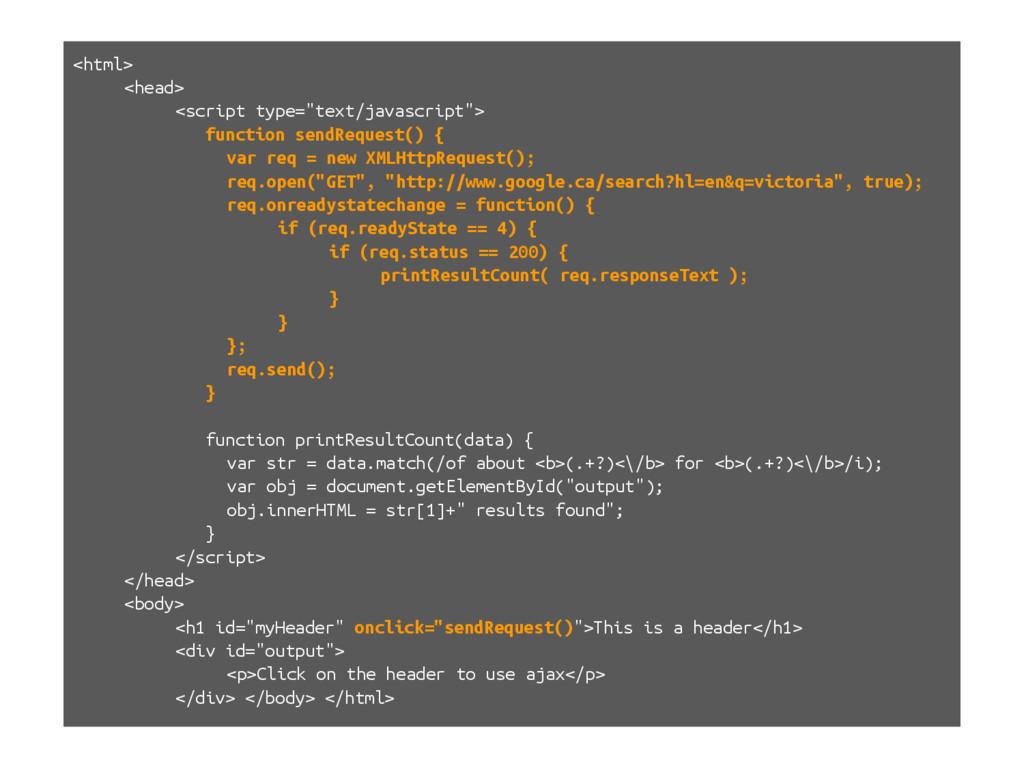 """<html> <head> <script type=""""text/javascript""""> f..."""