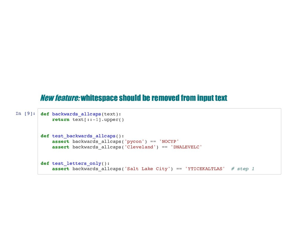 New feature: whitespace should be removed from ...