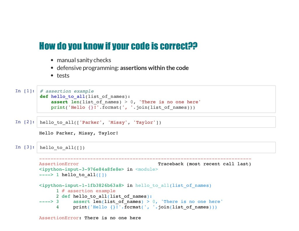How do you know if your code is correct?? How d...