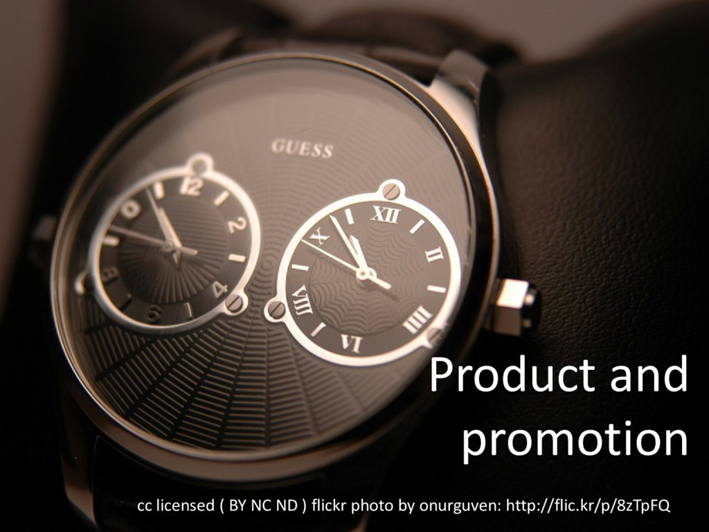 Product and promotion cc licensed ( BY NC ND ) ...