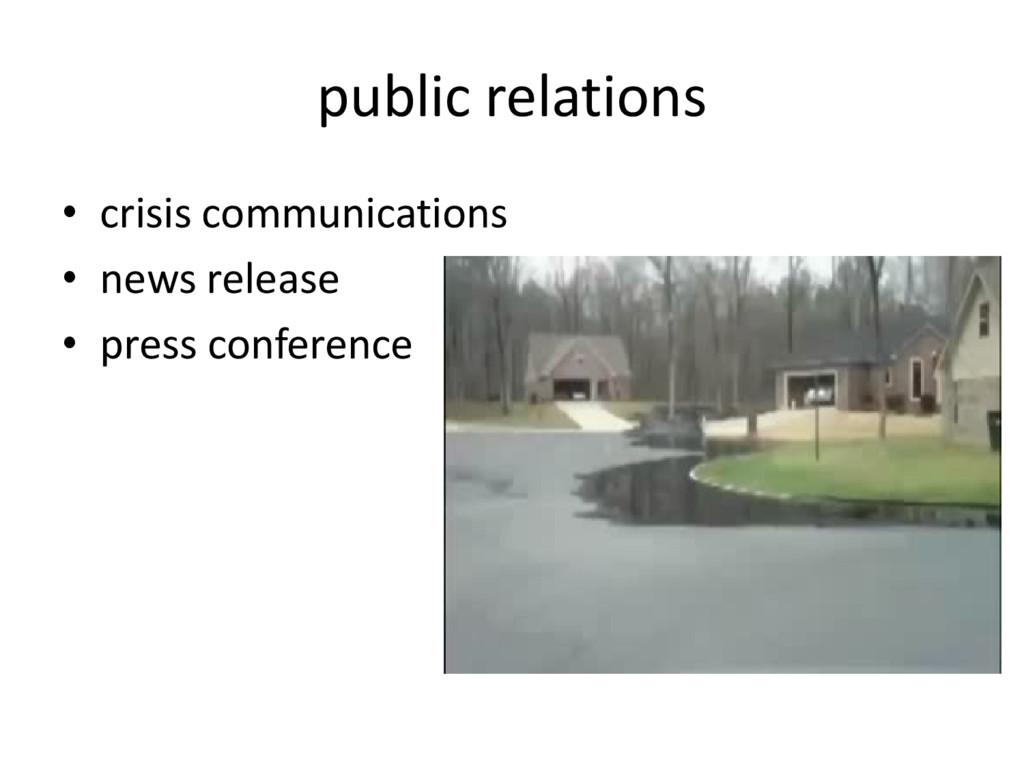 public relations • crisis communications • news...