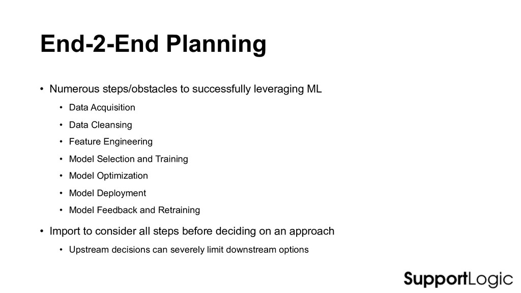 End-2-End Planning • Numerous steps/obstacles t...