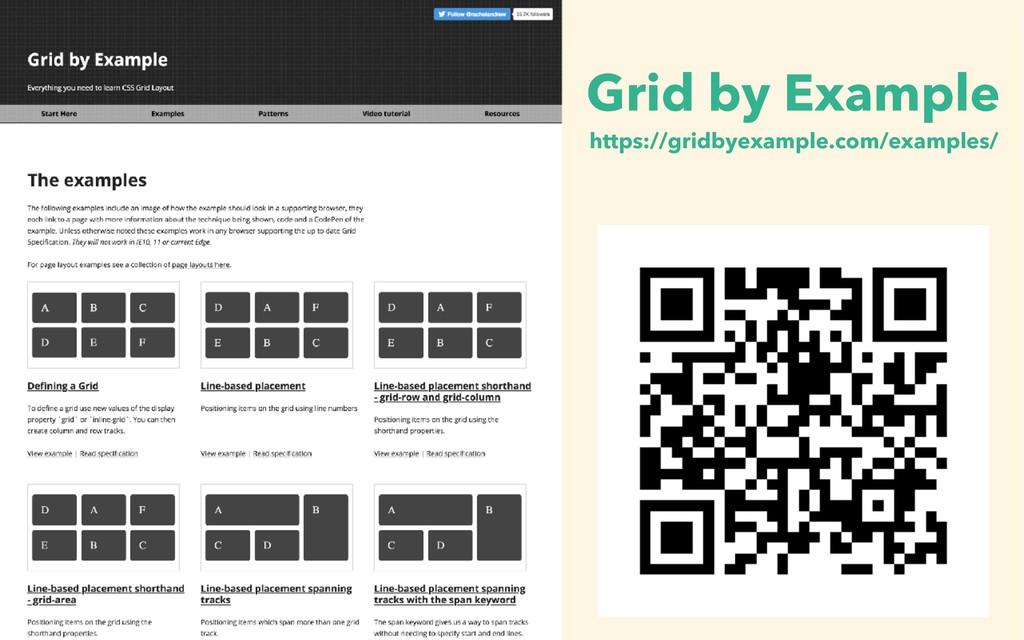 https://gridbyexample.com/examples/ Grid by Exa...