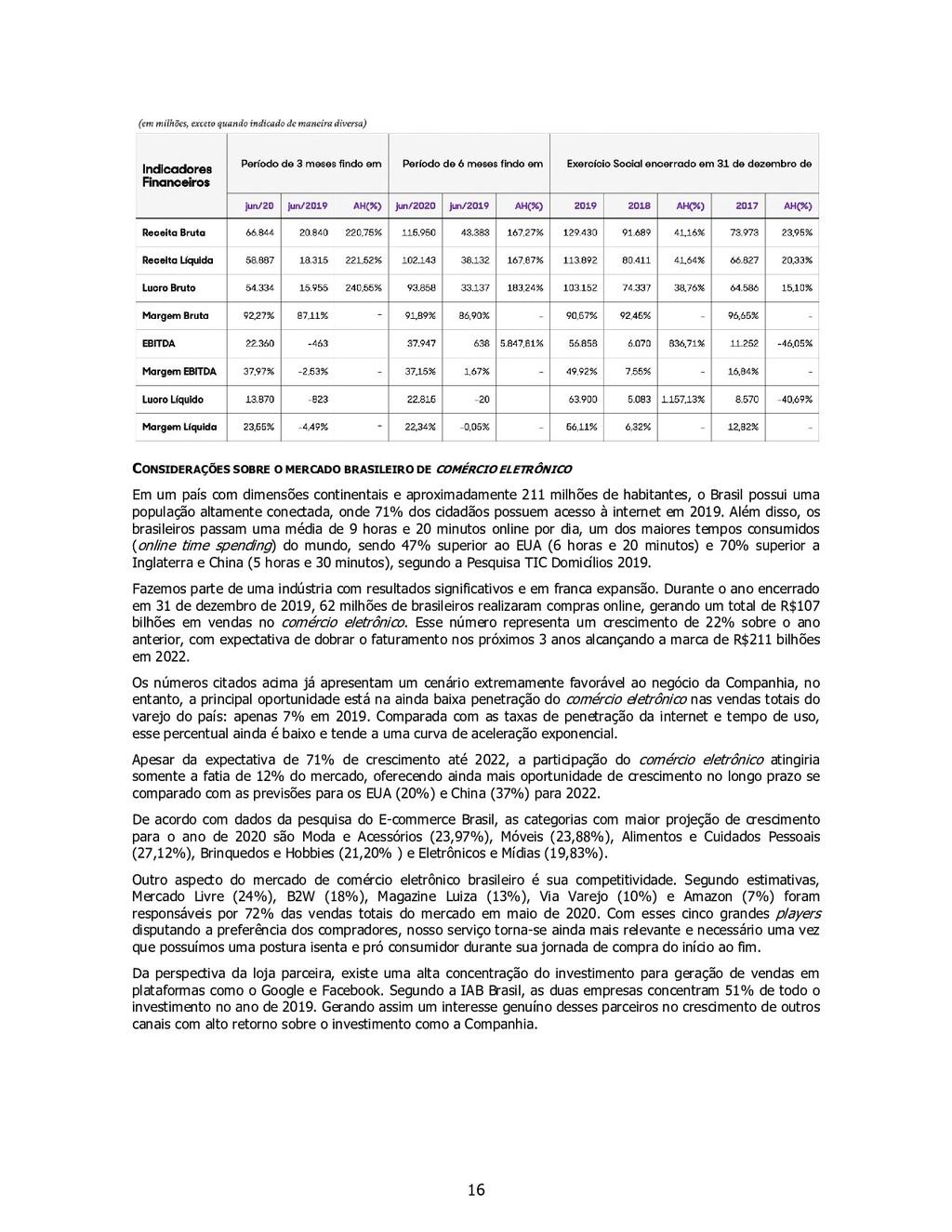 16 CONSIDERAÇÕES SOBRE O MERCADO BRASILEIRO DE ...