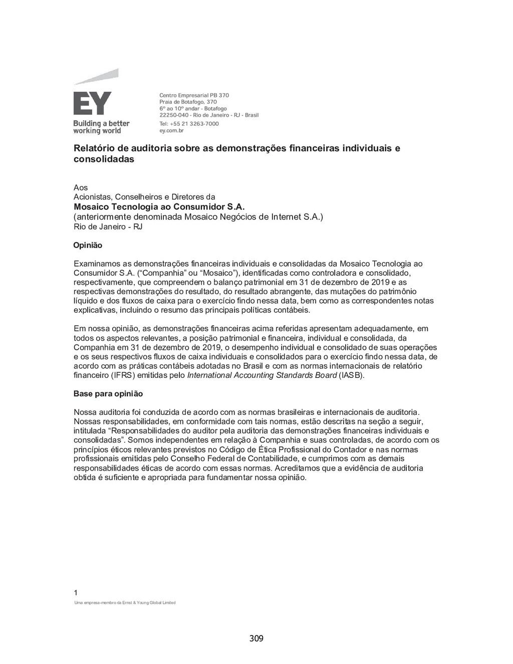 Uma empresa-membro da Ernst & Young Global Limi...