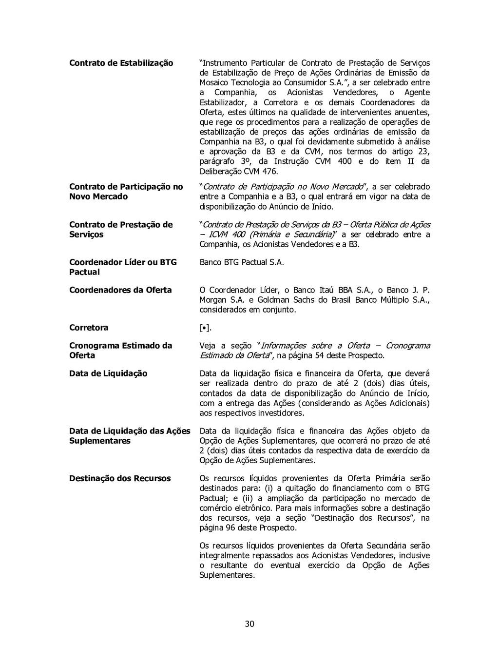 """30 Contrato de Estabilização """"Instrumento Parti..."""