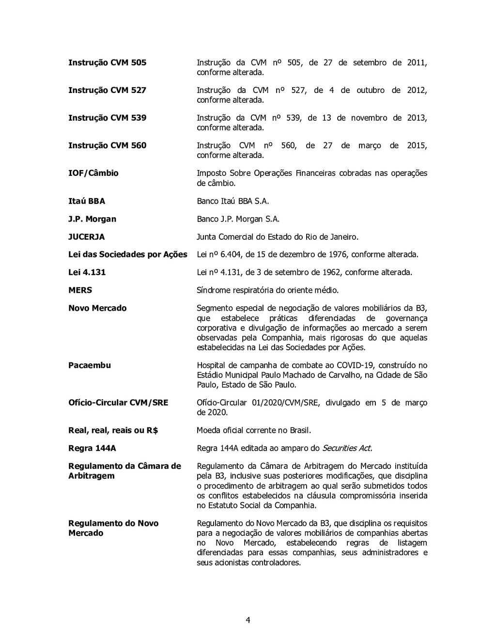 4 Instrução CVM 505 Instrução da CVM nº 505, de...