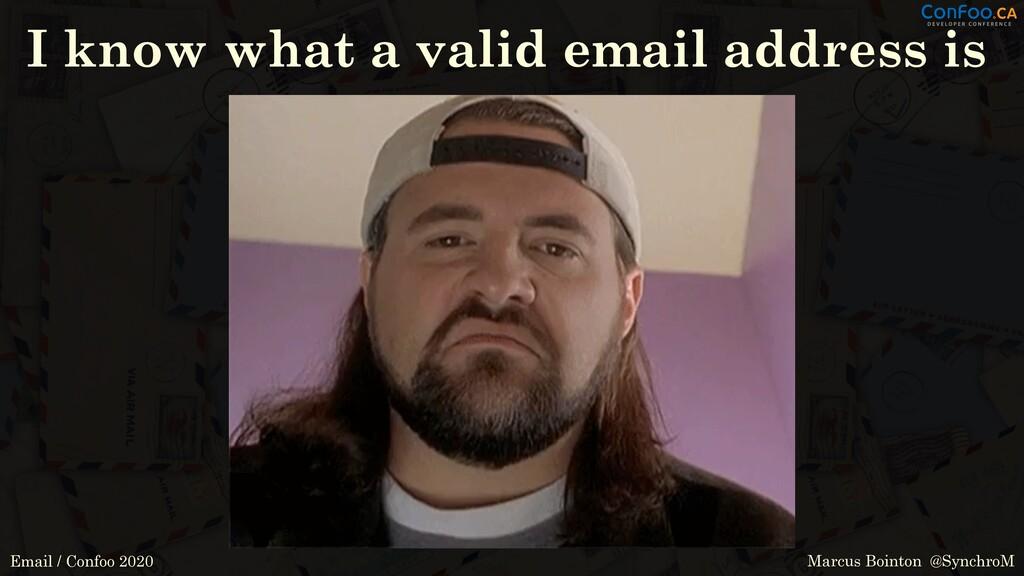 Marcus Bointon @SynchroM Email / Confoo 2020 I ...