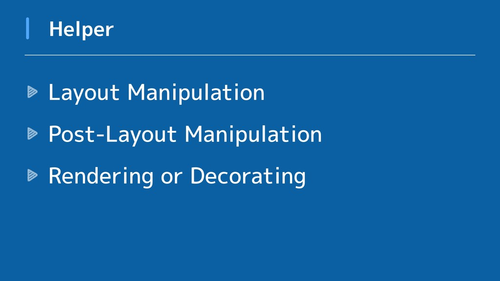 Layout Manipulation Post-Layout Manipulation Re...