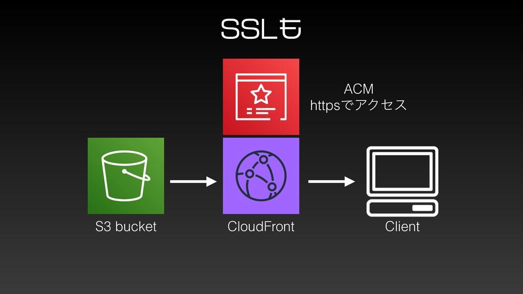 44- S3 bucket CloudFront Client ACM httpsͰΞΫηε