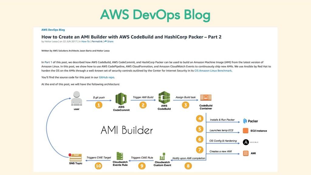 AWS DevOps Blog
